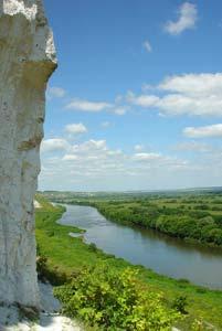 Река Дон у села Сторожевое, Воронежской области. Автор фото Владимир Плоткин