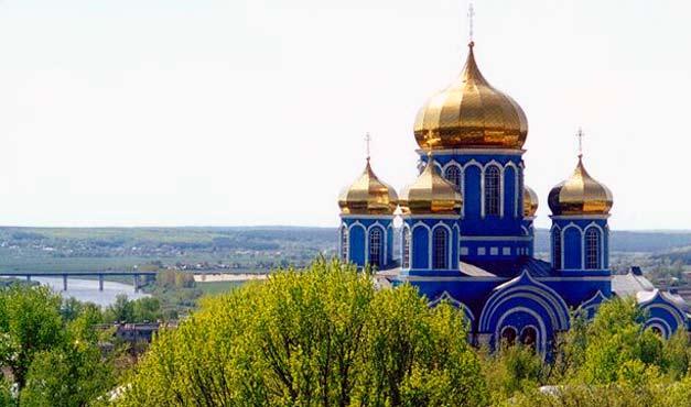 Монастырь Владимирской Богородицы в Задонске