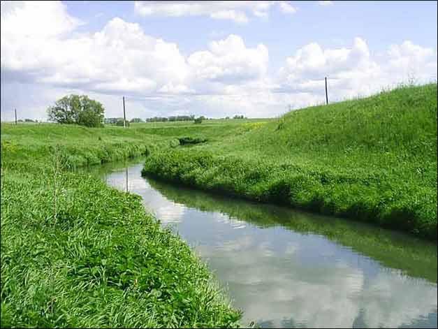 Верховья Дона, одна из первых излучин реки, Тульская область