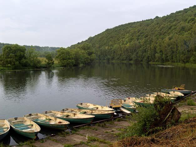 Шиловская пристань на реке Красивая Меча