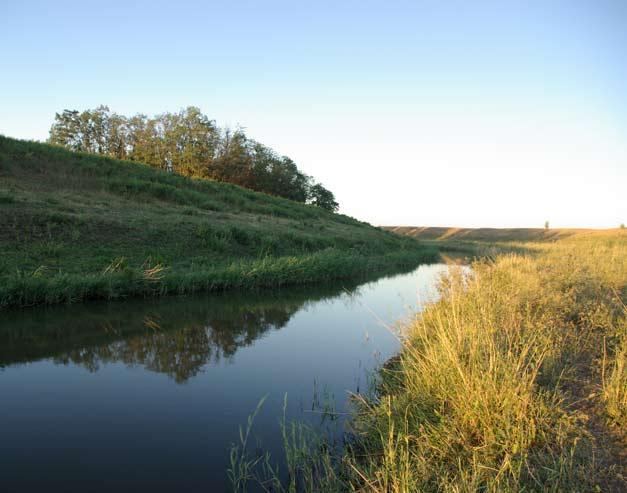 Утро на реке Сал