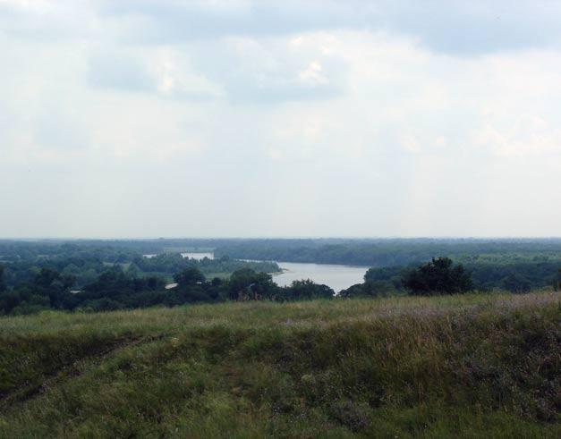 Северский Донец - устье