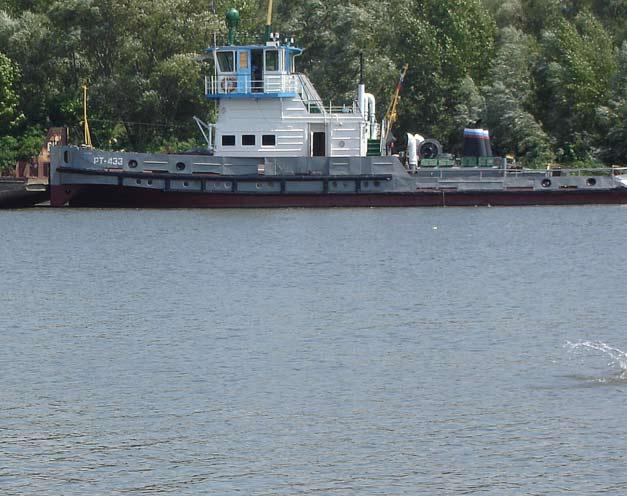 Судоходство на реке Северский Донец