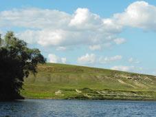 Устье реки Тишанка, приток Хопра