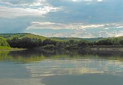 Река Хопер вечером